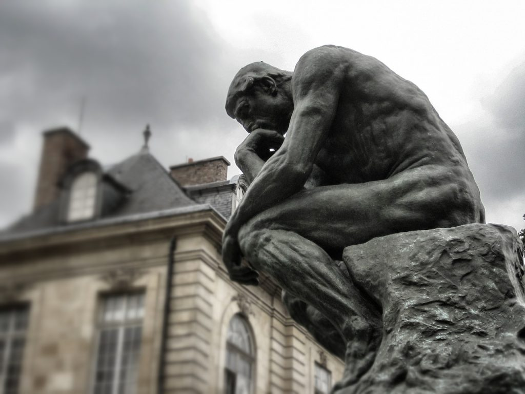 "Statue ""The Thinker"""